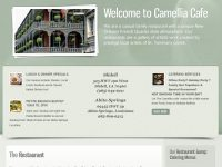 The Camellia Cafe website