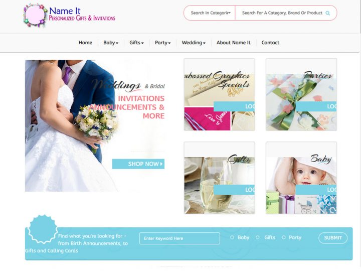 NameIt Invites & Gifts