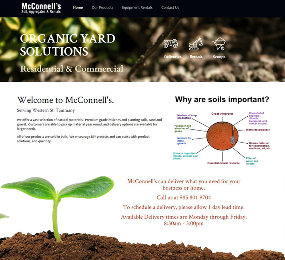 McConnell's Soil