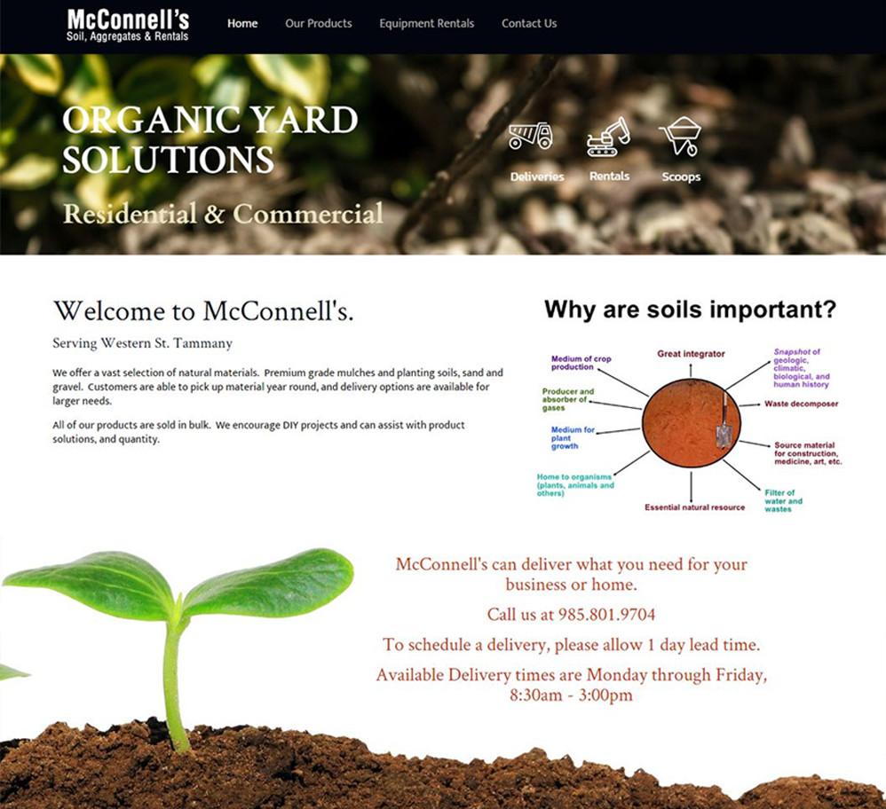 McConnell's Soil